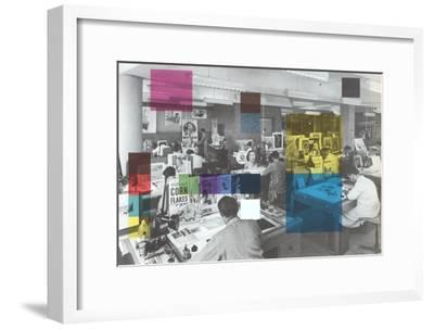 Graphic Arts Studio--Framed Art Print