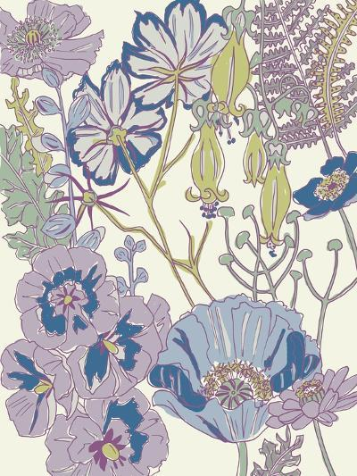 Graphic Garden III-Chariklia Zarris-Art Print