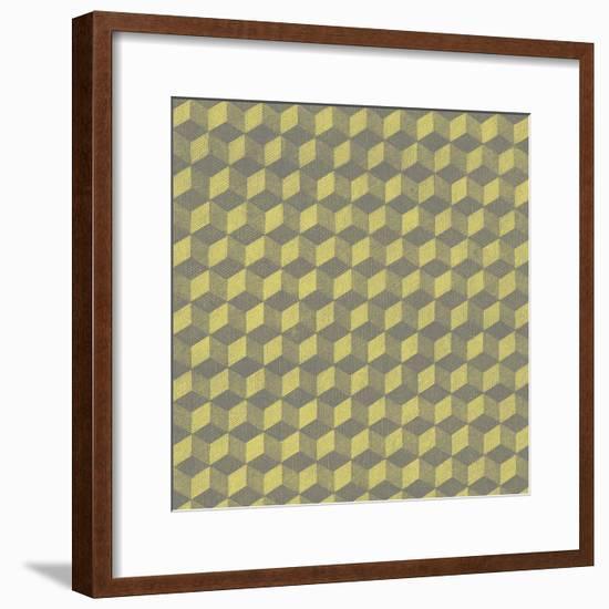 Graphic Pattern V--Framed Giclee Print