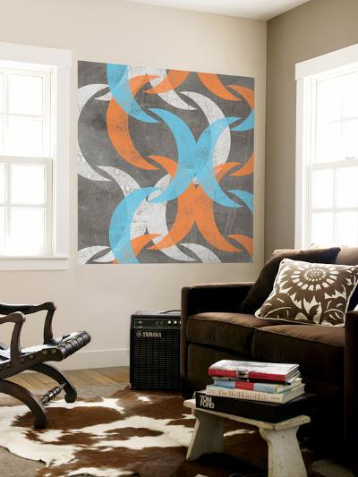 Graphic Wave I-Jennifer Goldberger-Wall Mural