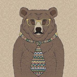 Bear-man by GraphINC