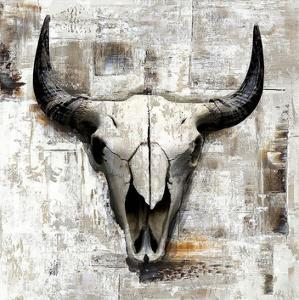 White Cowskull by GraphINC