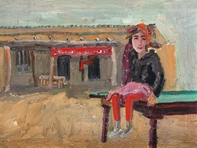 Grasp Rice Master's Daughter-Zhang Yong Xu-Giclee Print