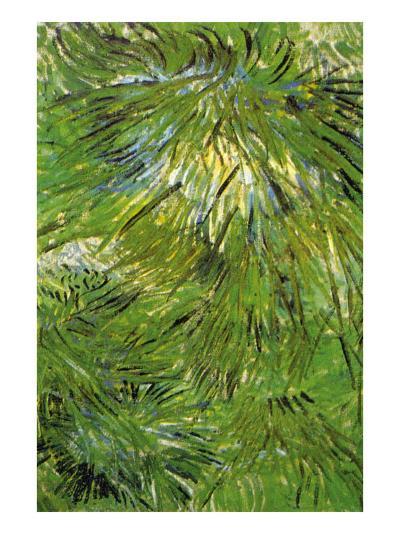 Grass-Vincent van Gogh-Art Print