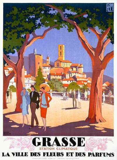 Grasse Giclee Print By Roger Broders Artcom