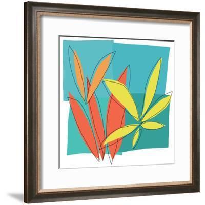 Grasses 1-Jan Weiss-Framed Art Print