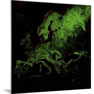 Forest Cover Of Europe by Grasshopper Geography