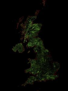 Forest Cover Of The United Kingdom by Grasshopper Geography