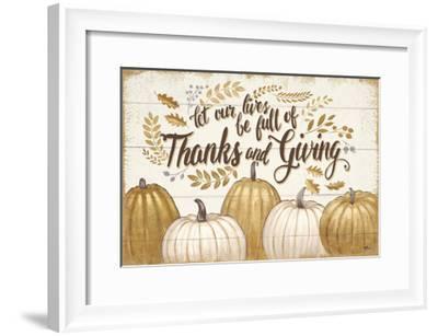 Grateful Season V-Janelle Penner-Framed Art Print