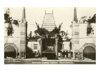 Grauman's Chinese, Hollywood, California--Art Print
