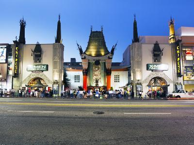 Grauman's Chinese Theatre, Hollywood Boulevard, Los Angeles, California, United States of America, -Gavin Hellier-Photographic Print