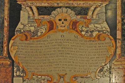 Grave Marker with Skull, St. John's Catholic Co-Cathedral, 1577--Giclee Print