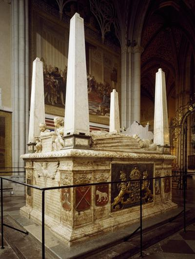 Grave Monument for Gustav Vasa and His First Wives Catherine of Lauenburg--Giclee Print