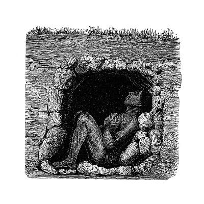 Grave of a Zulu Chief, 1888--Giclee Print
