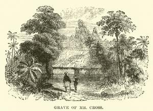Grave of Mr Cross