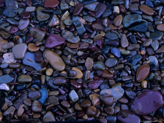 Gravel in Mountain Creek, Montana, USA-Jerry Ginsberg-Photographic Print