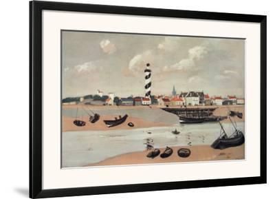 Gravelines-Andre Derain-Framed Art Print