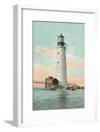 Graves Lighthouse, Boston Harbor