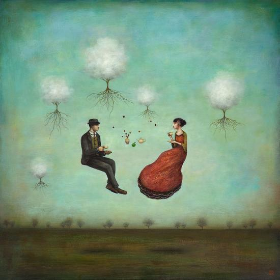 Gravitea For Two-Duy Huynh-Premium Giclee Print