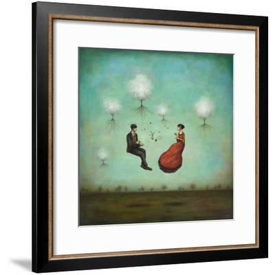 Gravitea For Two-Duy Huynh-Framed Art Print
