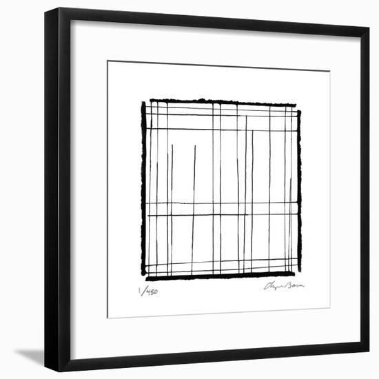 Gravity Drawing 2-Lynn Basa-Framed Limited Edition