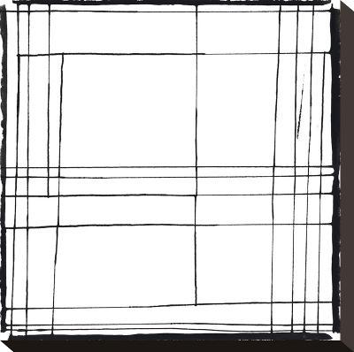 Gravity Drawing 4-Lynn Basa-Stretched Canvas Print