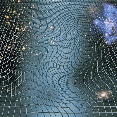 Gravity Waves In Space-time, Artwork-Victor De Schwanberg-Photographic Print