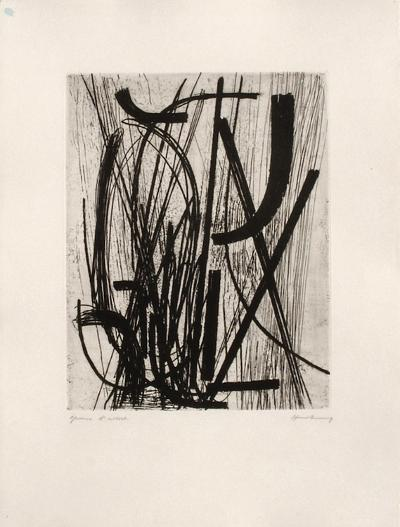 Gravure 16-Hans Hartung-Limited Edition