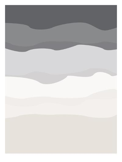 Gray Beige Abstract-Jetty Printables-Art Print