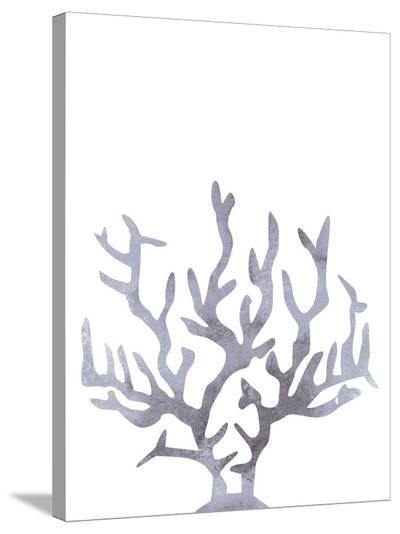 Gray Coral-Jetty Printables-Stretched Canvas Print