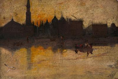 Gray Day in Spring, Venice, 1884-Thomas William Roberts-Giclee Print