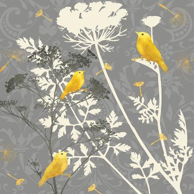 Gray Meadow Lace I-Jill Meyer-Art Print