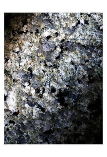 Gray Minerals 1-Sandro De Carvalho-Art Print