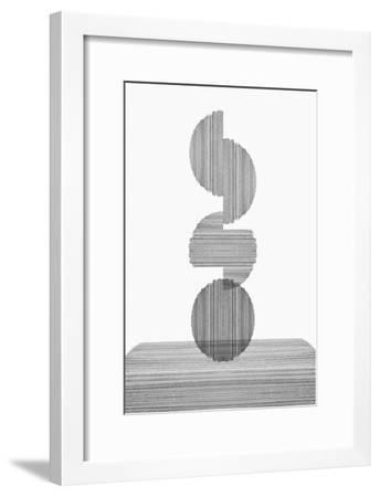 Gray on Gray III-PI Studio-Framed Art Print