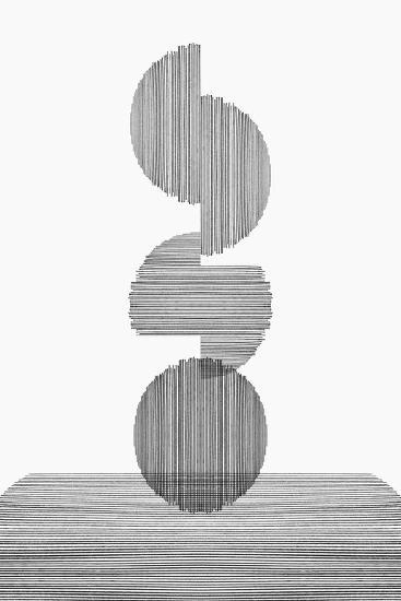 Gray on Gray III-PI Studio-Premium Giclee Print