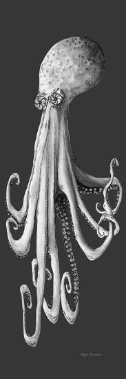 Gray on Gray Octopus 1-Megan Aroon Duncanson-Giclee Print