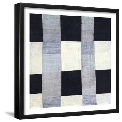 Gray Plaid 2-Laura Nugent-Framed Art Print