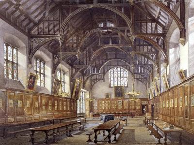 Gray's Inn Hall, London, 1886-John Crowther-Giclee Print