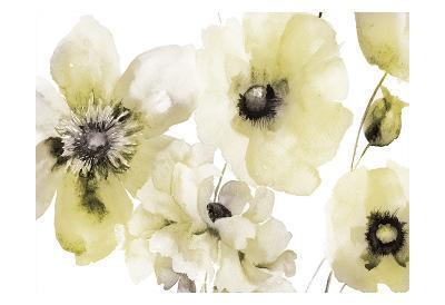 Gray Yellow Hues 3-Victoria Brown-Art Print