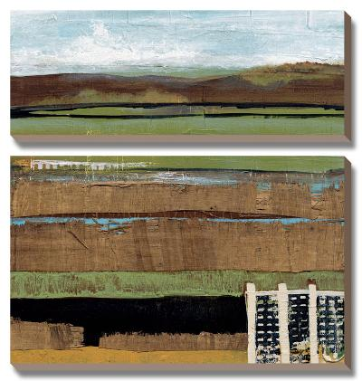 Grazing Range I-Leslie Bernsen-Canvas Art Set
