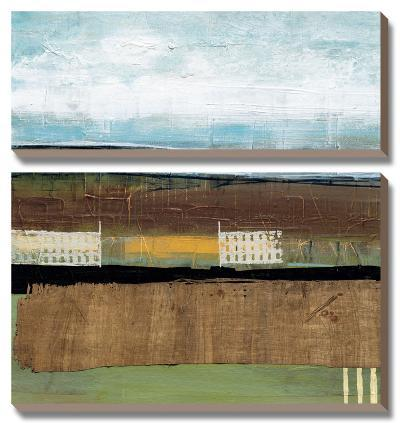 Grazing Range II-Leslie Bernsen-Canvas Art Set
