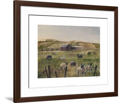 Grazing Sheep II-Ethan Harper-Framed Limited Edition