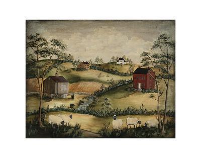 Grazing-Barbara Jeffords-Art Print