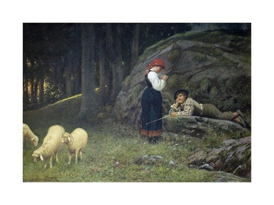 Grazing-Francesco Burlazzi-Giclee Print