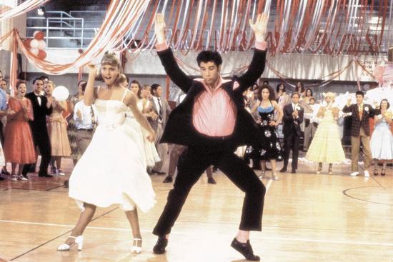 Grease 1978 Directed By Randal Kleiser Olivia Newton John And John Travolta Photo Art Com