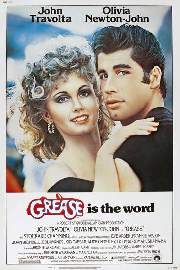 Grease, Olivia Newton-John, John Travolta, 1978. ? Paramount Pictures/Courtesy Everett Collection--Art Print