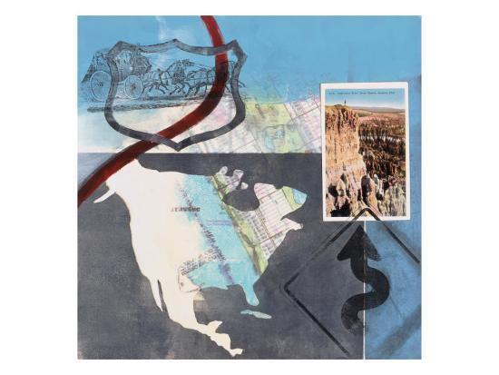 Great American Road Trip II-Connie Tunick-Art Print