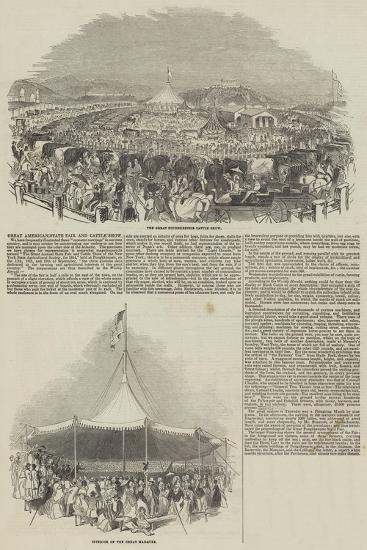 Great American State Fair and Cattle Show--Giclee Print