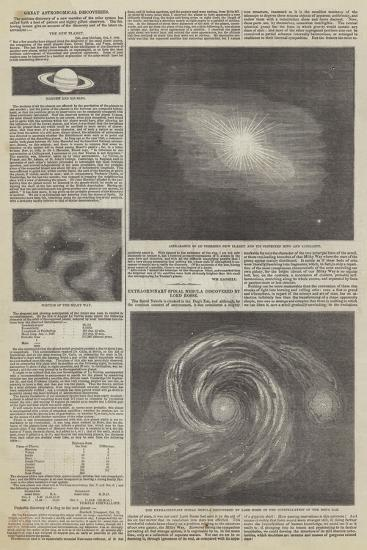 Great Astronomical Discoveries--Giclee Print