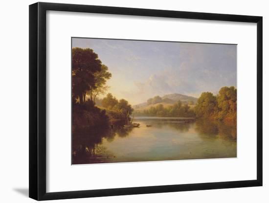 Great Barr, Staffordshire-John Glover-Framed Giclee Print